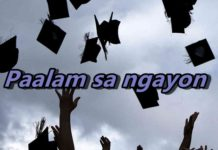 PhilippineOne student article/poem on graduation