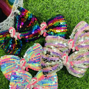 KIDS SEQUIN BOW
