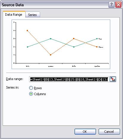 Excel 2003 Source Data Dialog