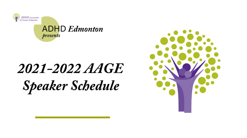 aage speaker schedule 2021-2022 for group support meetings