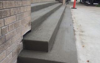 New Concrete Steps
