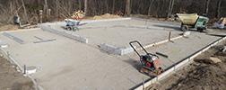 DG Cement Co Foundation Preparation