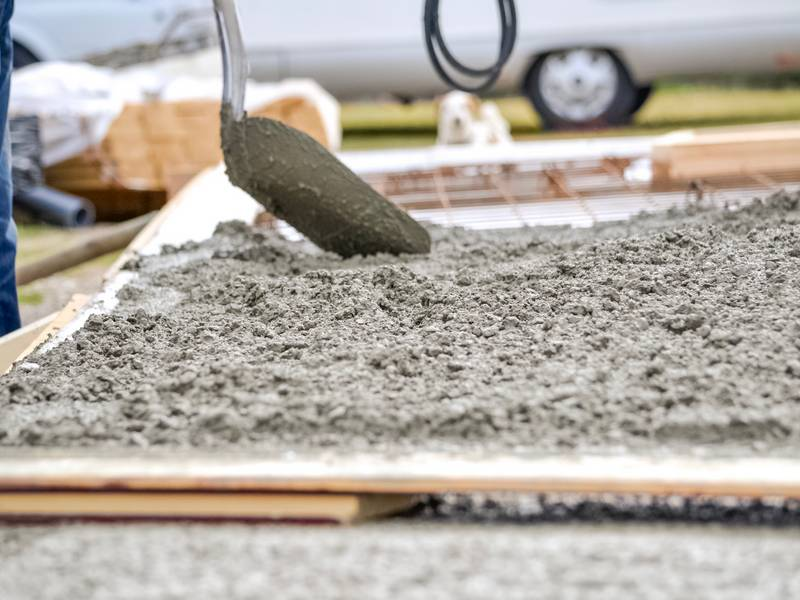How To Pour Cement