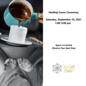 Barefoot Studio Healing Cacao Ceremony workshop