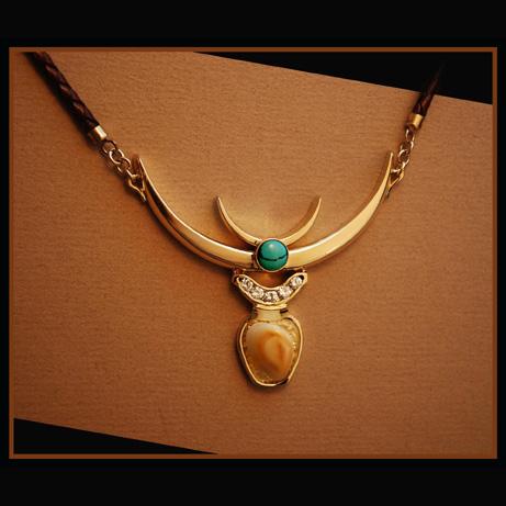 Elk Red Deer Custom Necklace designed by John Glossa