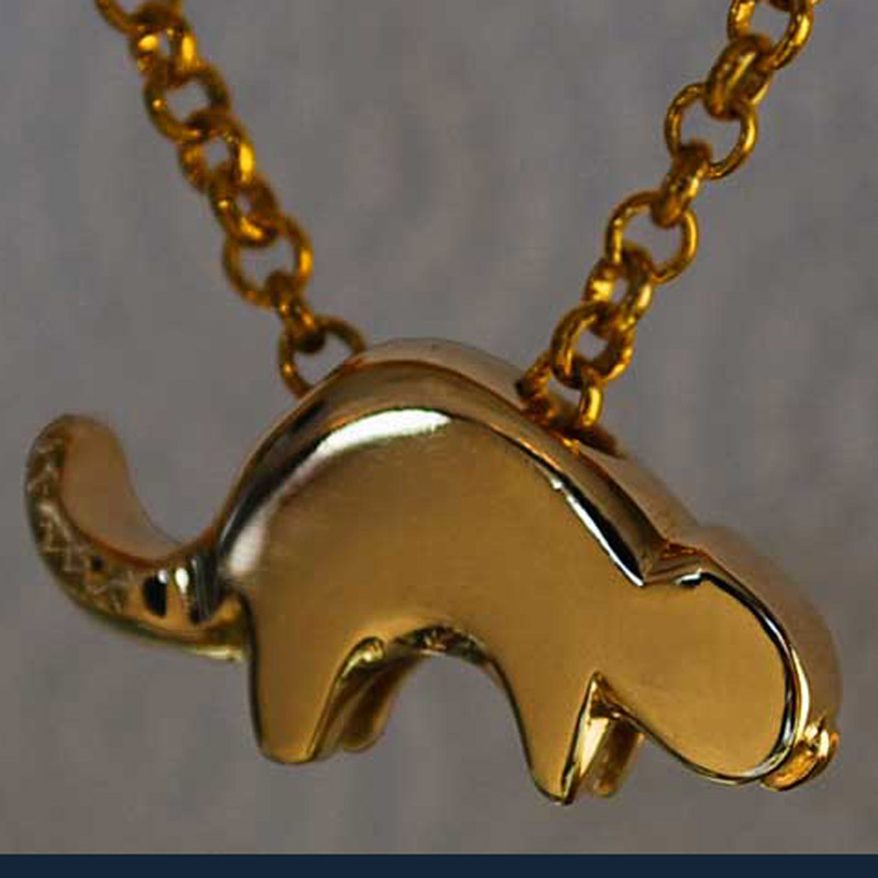 Solid Gold Beaver - Good Luck Charm