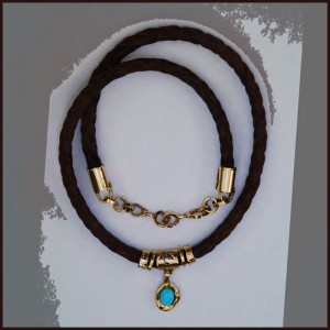 18K Gold n Leather72