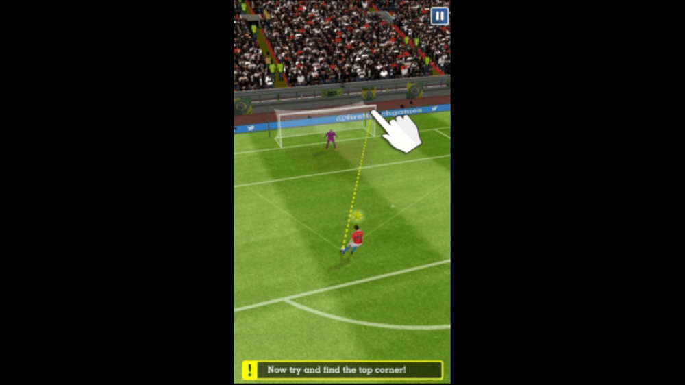 Score Hero - slide screen - Football game for android - review