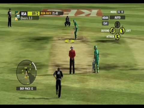 Ashe Cricket 2009 - Batting