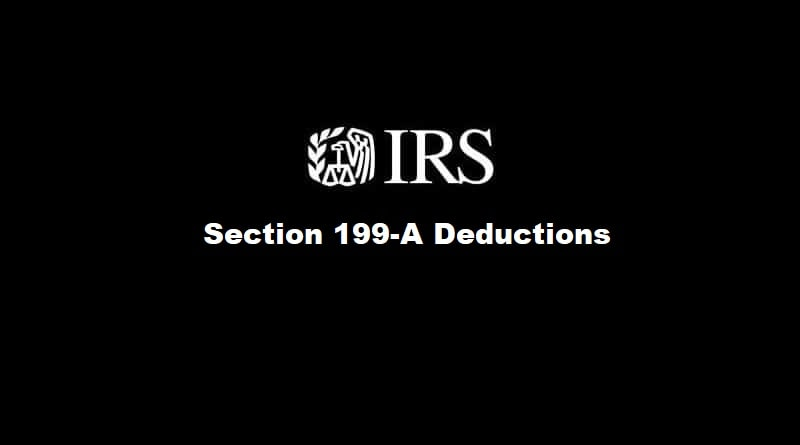 Section 199A Deductions - Qualified Business Income - Easy Guide