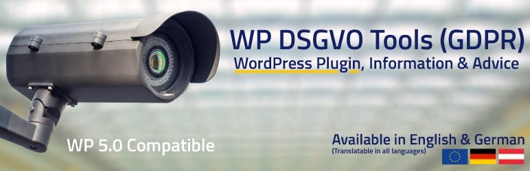WP DSGVO Tools (GDPR) by ShapePress eU