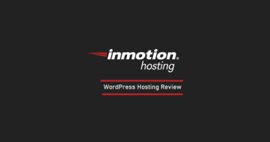 InMotion Hosting - WordPress Hosting - Review