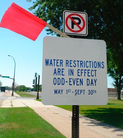 California Water Water Restrictions Tighten