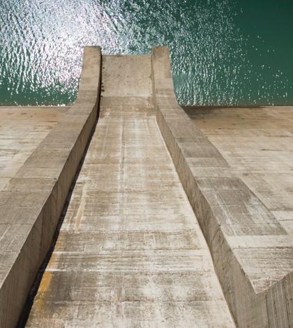 New Calaveras Dam Project Completes Spillway