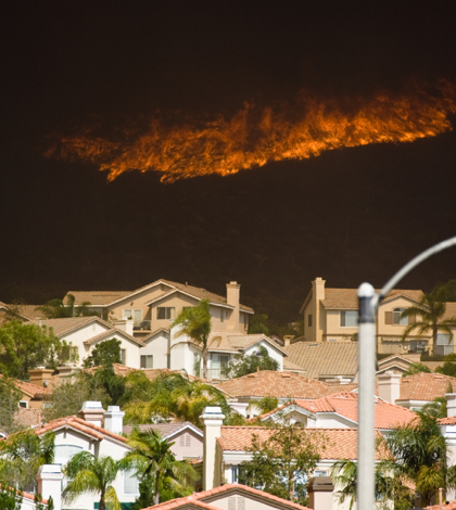 California Wildfires due to Drought