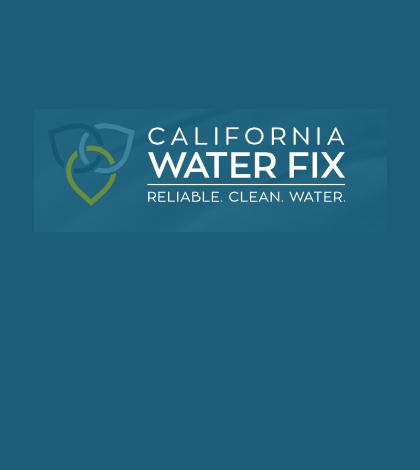 California WaterFix tunnels