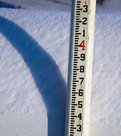 California Drought Snow Survey.
