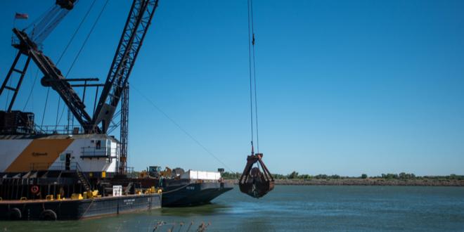 DWR begins construction on emergency drought barrier in Sacramento-San Joaquin Delta