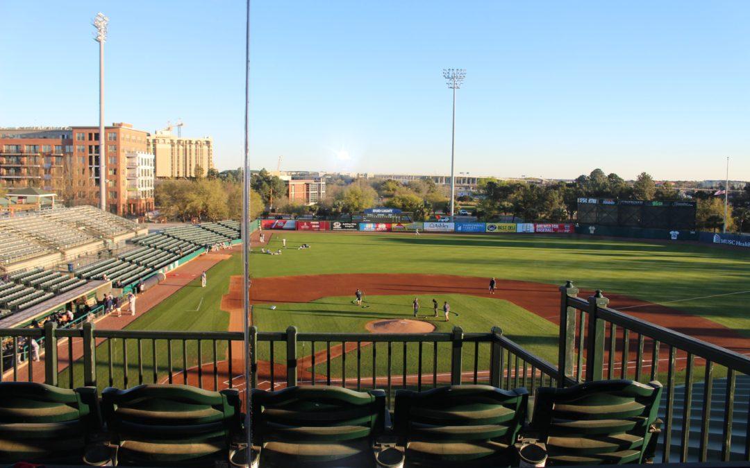 Yo Art and Blackbaud Team up for the Citadel vs. Charleston Southern Baseball Game!