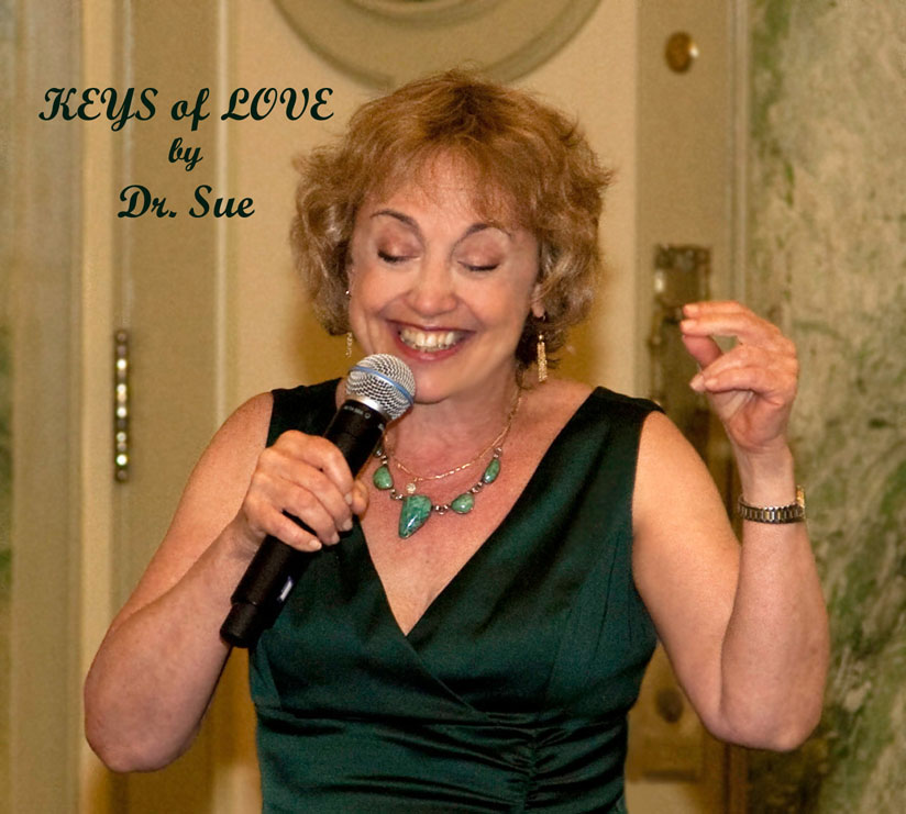 """Dr. Sue sings """"Dare to Believe"""""""