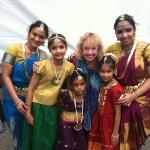 Navatman Dancers with Dr. Sue - Dance Parade