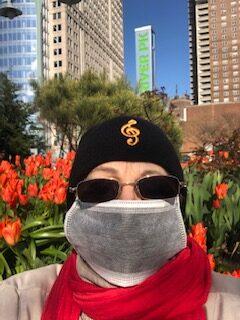 Dr. Sue Tulips Mask Positive Entertainment