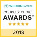 Wedding Wire Couple's Choice Winner 2018