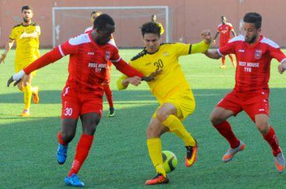 الدوري اللبناني: العهد يتعادل مع التضامن صور في مباراة مؤجلة