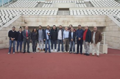 نادي برشلونة يطمئن على استعدادات الكلاسيكو في بيروت