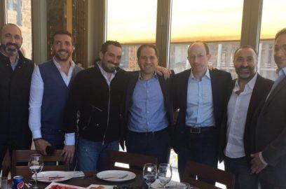 مأدبة عشاء بين النائب الجميل والنادي الرياضي بيروت