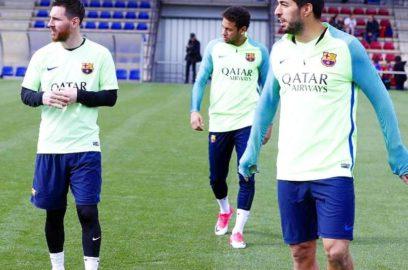 عودة الـ MSN لتدريبات برشلونة