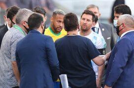 إلغاء مباراة البرازيل والأرجنتين
