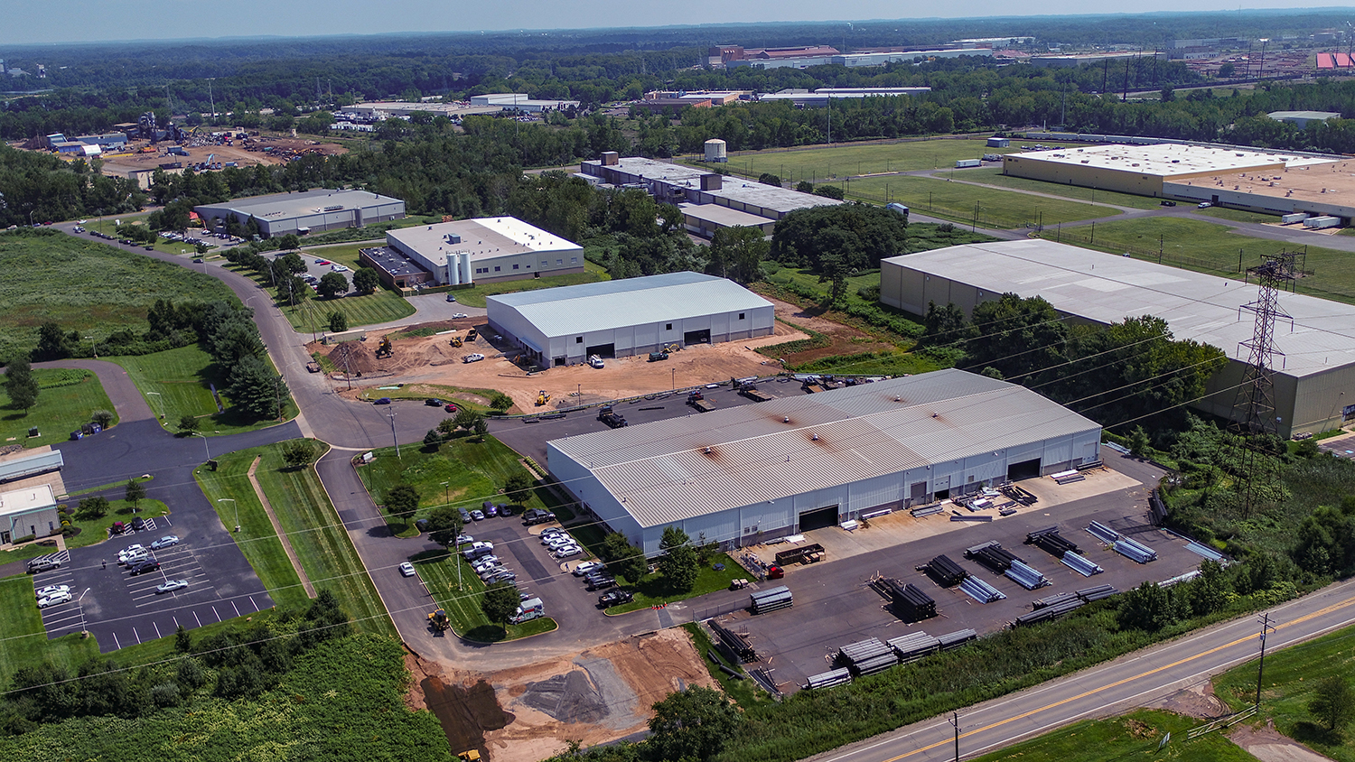 Aerial View of our Office Factory and warehouse
