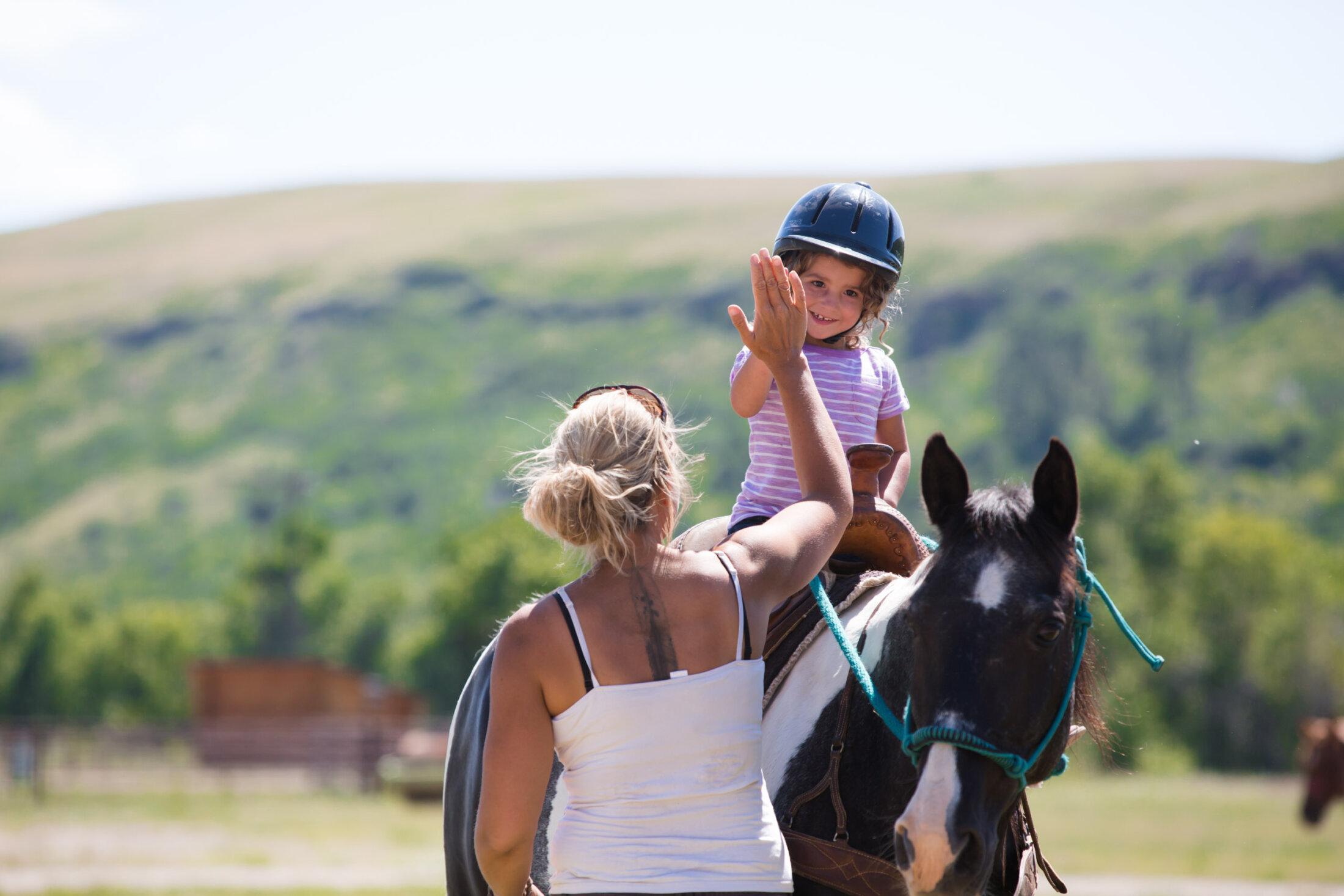 Kid's Horseback Riding
