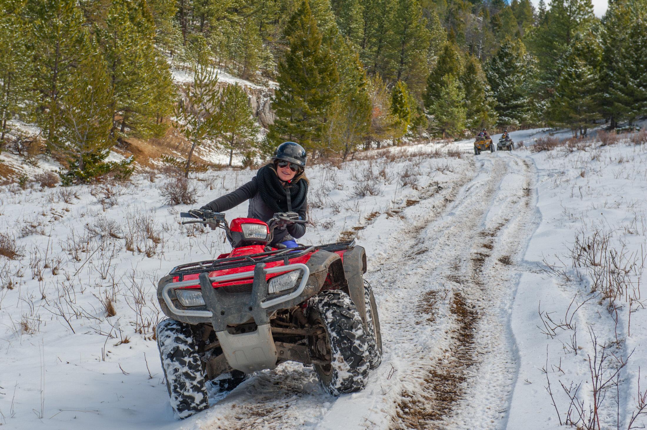 Winter ATVs