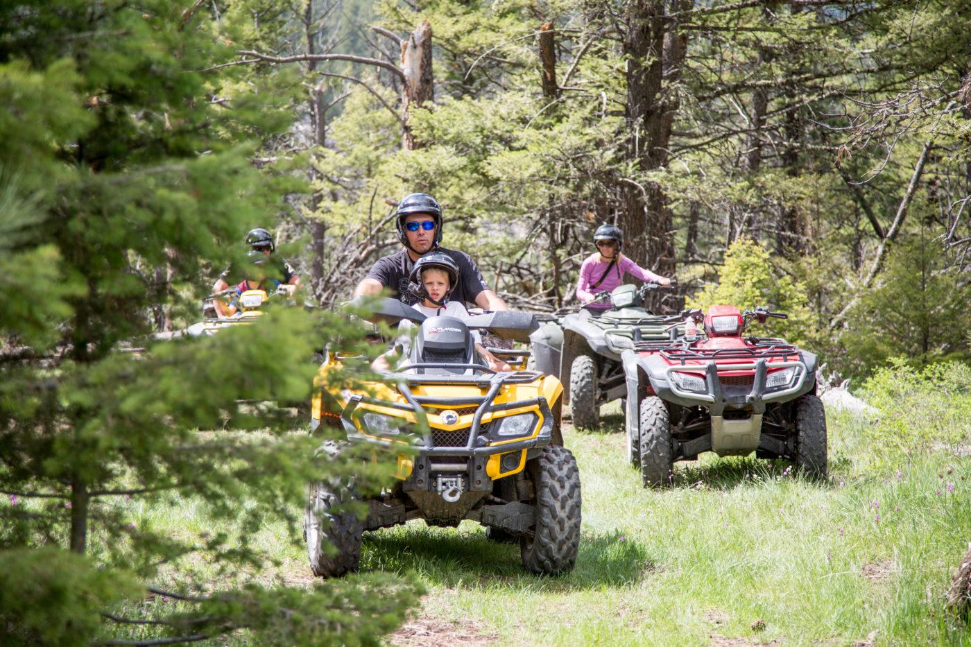 Father & Son ATV Ride