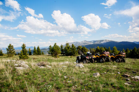 ATVs in the Mountains