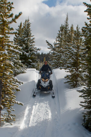 Ranches at Belt Creek Snowmobile day