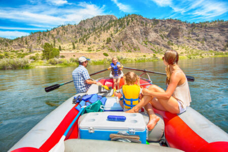 River Rafting on the Missouri River