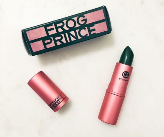 frog prince lipstick beauty sarenabee
