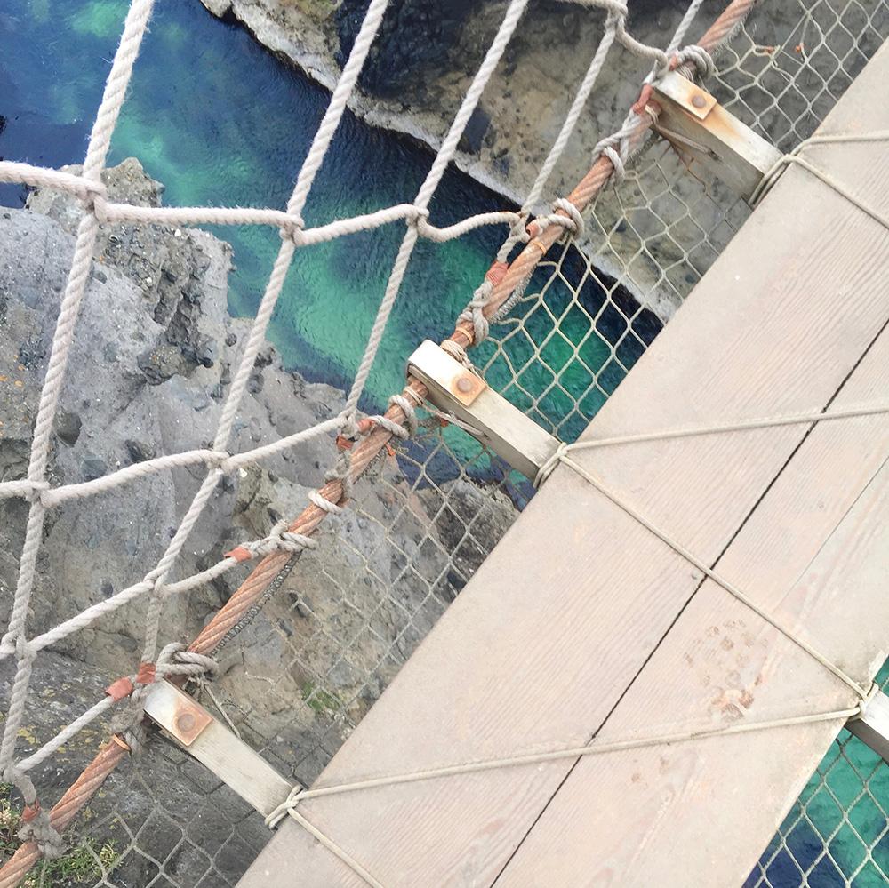 Rope Bridge Northern Ireland Sarenabee