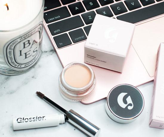 Glossier Makeup - Stretch Concealer and Boy Brow Makeup Review via Sarenabee.com