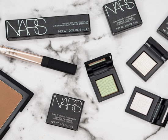 NARS Dual Intensity Eyeshadow, Laguna Bronzer and Creamy Concealer Review via Sarenabee.com