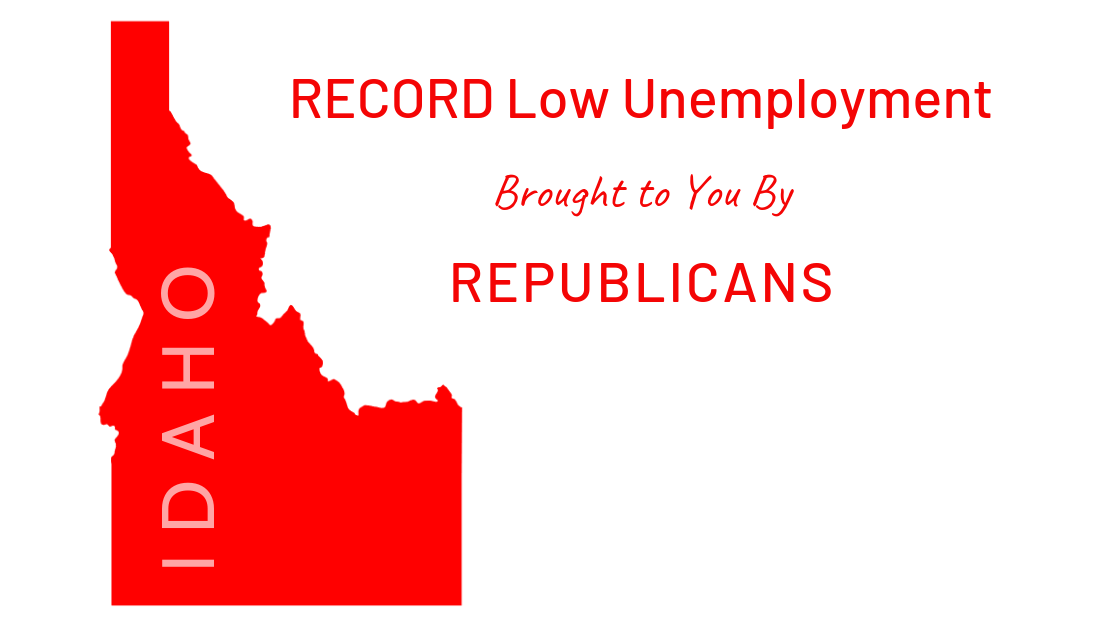 Idaho Unemployment Rate Hits a Record Low!