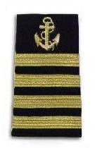 Commodore anchor stripes