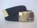 Regular Black Web Belt & brass buckle