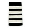 Past Commodore Stripes Only Epauulets