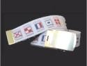 White Reversible Code Flag Web Belt & brass buckle