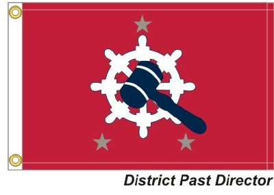 HD-Past District Director - 3 Silver Stars