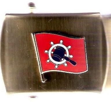 Brass Belt Buckle w/Logo